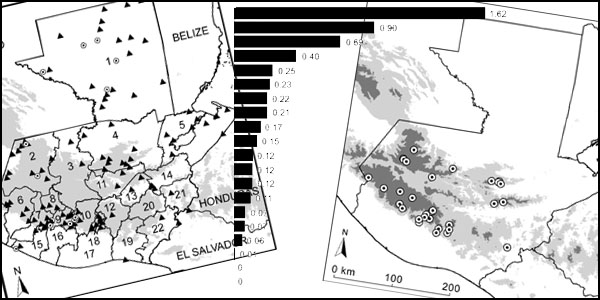 Bird diversity and distribution in Guatemala